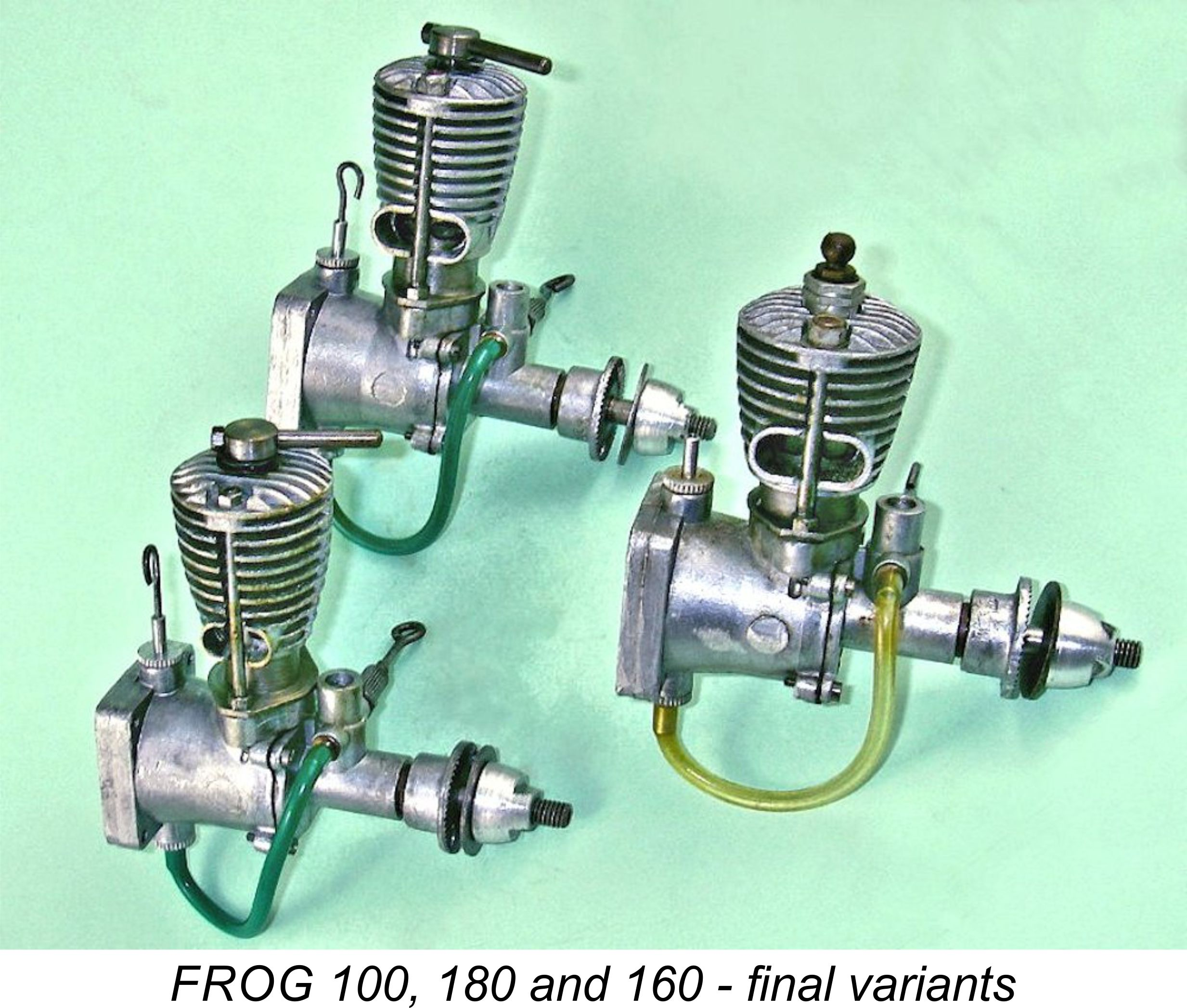 AdriansModelAeroEngines.com :: FROG - early models