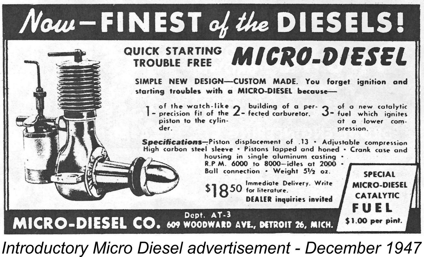 AdriansModelAeroEngines com :: Micro Diesel (USA)